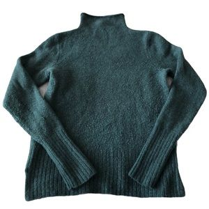 Madewell Inland Turtleneck Forest Green Sweater M